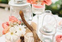 Coral Pink Wedding '16