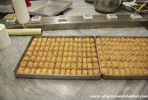 Baklava Making Workshop Istanbul / Turkish Baklava making class in our kitchen in istanbul. - April 2016 http://www.afiyetolsunistanbul.com/index.php/turkish-cooking-workshops/turiksh-baklava-workshops