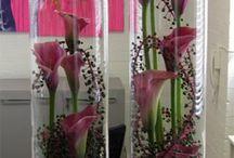 kukka lasivaasissa
