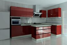 Modular Kitchen / Its all about modern kitchen I recently start working on kitchen, it is the only functional area in home where we spend time with our love ones so I just try to do with some of my own design .