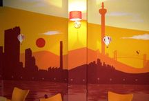 Belső dekorációs festés / Belső dekorációs festés - Falfelületek dekorációs festése kedvező áron
