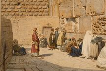 European and Middle East Art Works / Highlights of Fine Art featuring European and Middle Eastern scenes.  Sold by John Moran Auctioneers, Pasadena, CA