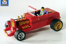 LEGO VEHICLES / Folder for Lego vehicles in all sizes and styles.