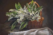 полевые и луговые цветы
