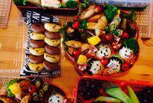 運動会bento box_for sports day / bento box for sports day! grade 5 &grade1 boys.
