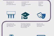 Infografias / Infografias realizadas por Mar Carrillo / by Mar Carrillo