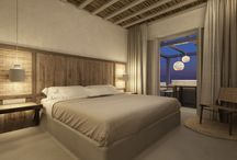 "Preview Rooms & Suites / A ""preview"" glimpse at the rooms and suites of Branco Mykonos Hotel..."