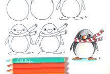 Dessin crayon de couleur