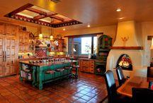 Southwestern kitchens