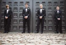 Gorgeous Groomsmen / These groomsmen have seriously savvy style!
