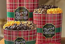 Merry Christmas & Happy Holidays! / Celebrate the holidays with gourmet popcorn gifts! Shop delicious popcorn gift baskets and holiday popcorn tins filled with holiday treats, gourmet popcorn and popcorn balls. We have a variety of holiday tins and gift boxes, perfect for Christmas, Hanukkah, the New Year and more! Visit our website for our full line of Holiday items https://www.thepopcornfactory.com/holiday-popcorn-gifts