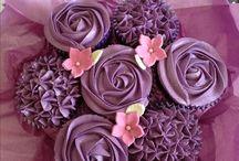 kytice z cupcakes