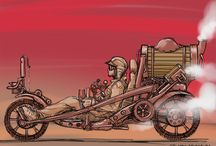 Steampunk machines