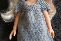 Tricot vêtements poupée