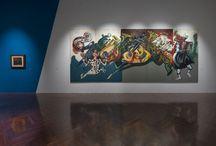 El arte de la música / La exposición que organiza el Museo del Palacio de Bellas Artes, en colaboración con el Museo de Arte de San Diego, es una exploración multifacética sobre el diálogo entre el arte y la música, así como un repertorio de formas que los artistas visuales han desarrollado a partir de sus elementos.