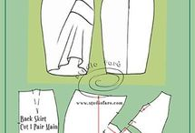 Drape skirt