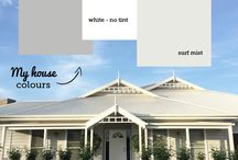 house paint colours and schemes
