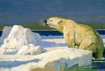 Polar Bears in Art 1 / ART
