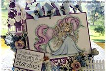 Tiddly Inks Cards by Julie Gleeson
