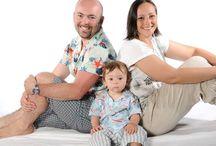 THE Popolizio Family  / Da sinistra a destra: Marco, Alessandro, Deborah.