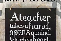teacher present