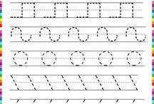 Graphik Übungen Kindergarten