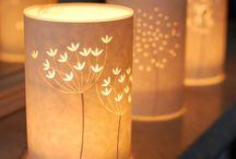 világító dekorok