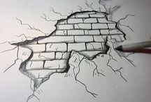 drawing walls