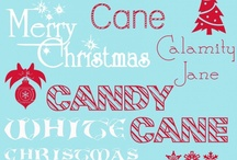 Christmas: Fonts & Printables / by Mairi Weder