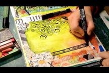 ART JOURNALING\ MIXED MEDIA TUTORIAL / by Cindy Smith