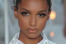 Dark skin make up
