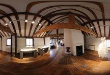 Museum - Tudor House / 2 panoramas from a pano shoot on Saturday 12 Oct 2013 (Southampton - Tudor House)