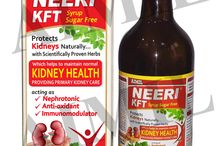 NeeriKFT :- An ayurvedic way to provide primary Kidney Care / NeeriKFT is a blend of carefully chosen, scientifically proven herbs  with pronounced therapeutic activity and safety. It helps inh  the managemant of cpmpromised kidney functions due to various factors.