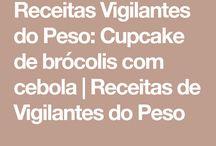 cupcake de brócolis