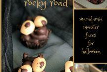 Halloween with macadamias