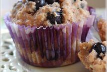Muffins aux bleuets et à l'avoine