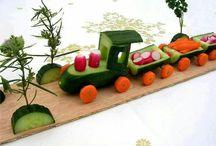 zeleninova dekorace