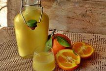 Liquore crema di arancia