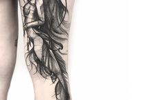 Meerjungfrau Tattoo