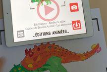 Les Dinosaures - Cahier de Dessin Animé / Découvrez le Cahier de Dessin Animé - Les Dinosaures. #CahierAnimé #creativetech