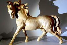 Wooden Sculptures By Sculturia