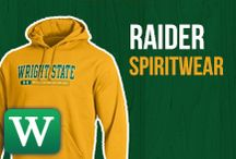 Raider Spiritwear / Dress to the nines with your favorite style in mind, make Rowdy proud and don a proud Wright State sweatshirt, cap, or gown.  / by Wright State University