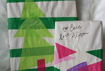 gift wrapping ideas / by Nancy Martin