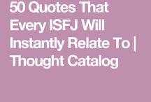 ISFJ! That's me!
