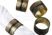 Napkin Rings for Hire