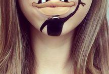 maquillage cartoon