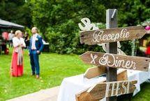 bordjes trouwen