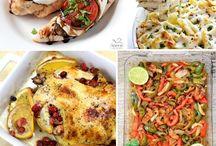 50 chicken recipes / by Sandi Bjarnson