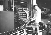 Old bottling line