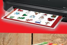 Holiday Laminating Ideas / Choose from an array of laminating template ideas to make the holiday fun, festive and complete.